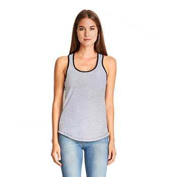 Ladies' Ideal Colorblock Racerback Tank