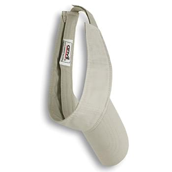 Adult Solid Low-Profile TwillVisor