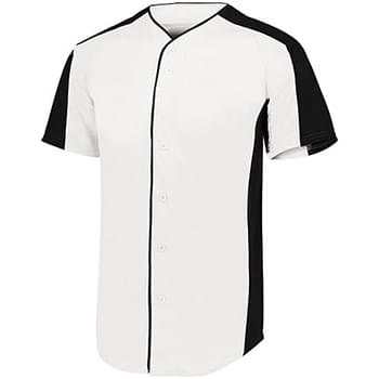 Adult Full-Button Baseball Jersey