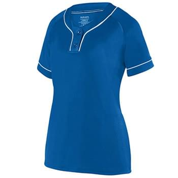 Ladies' Overpower 2-Button Jersey