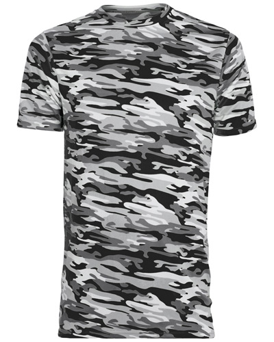 Youth Mod Camo Wicking Short-Sleeve T-Shirt