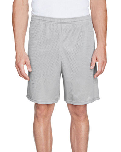 Adult Longer Length Tricot Mesh Short