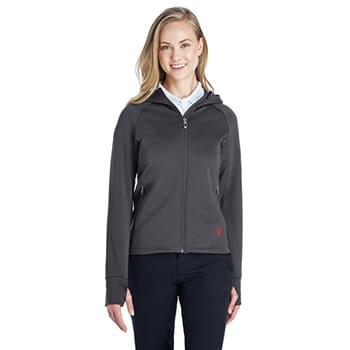 Ladies' Hayer Full-Zip Hooded Fleece Jacket