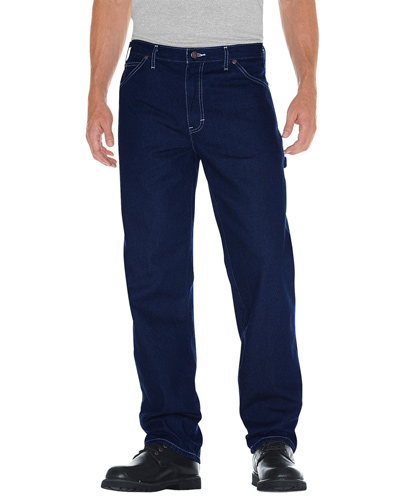 Unisex Relaxed Straight Fit Carpenter Denim Jean Pant