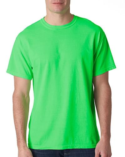 Adult Neon Solid Pigment-Dyed Tee