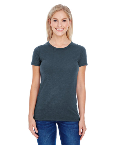 Ladies' Slub Jersey Short-Sleeve T-Shirt
