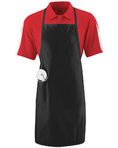 Unisex Long Apron With Pockets