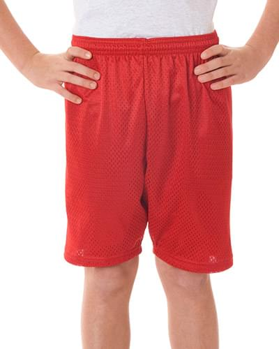Youth Six Inch Inseam Mesh/Tricot Short