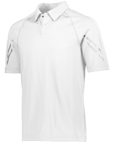 Unisex Dry-Excel Spandex Knit Flux Polo T-Shirt