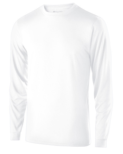 Youth Polyester Long Sleeve Gauge Shirt