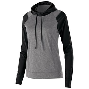 Ladies' Dry-Excel Echo Performance Polyester Knit Training Hoodie