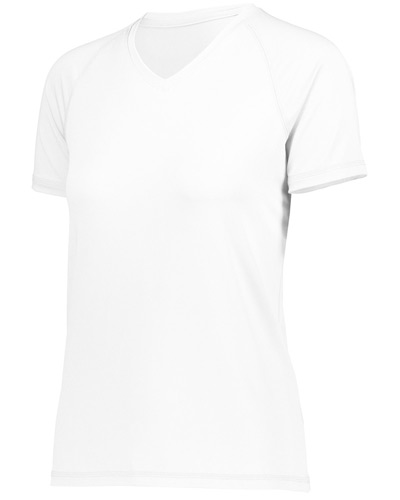 Ladies' Dry-Excel? True Hue Technology? Swift Wicking V-Neck Training T-Shirt