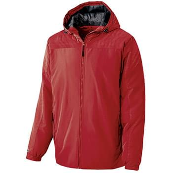Adult Polyester Full Zip Bionic Hooded Jacket