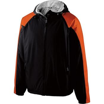 Adult Polyester Full Zip Hooded Homefield Jacket