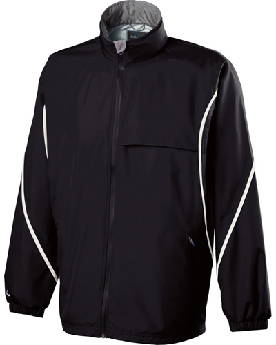 Adult Polyester Full Zip Hooded Circulate Jacket