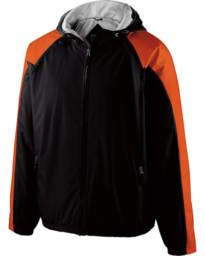 Youth Polyester Full Zip Hooded Homefield Jacket