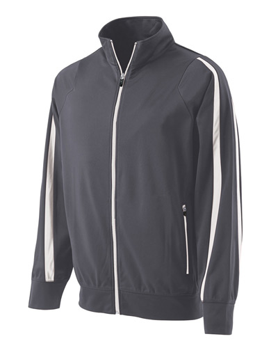 Youth Polyester Full Zip Determination Jacket