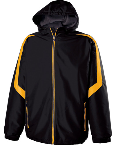 Youth Polyester Full-Zip Charger Jacket