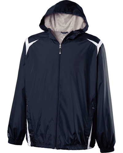 Youth Polyester Full Zip Hooded Collision Jacket