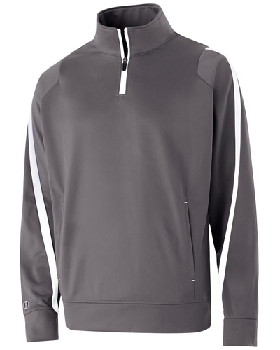 Youth Polyester 1/4 Zip Determination Pullover