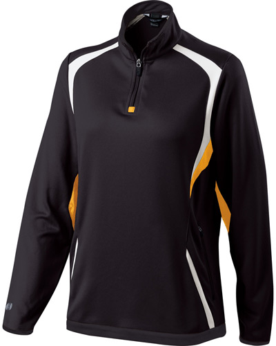 Ladies' Polyester 1/4 Zip Transform Pullover