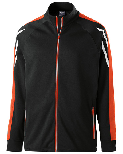 Unisex Flux Temp-Sof Performance Fleece Warm-Up Jacket