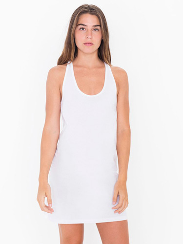 Ladies' Fine Jersey Racerback Tank Dress