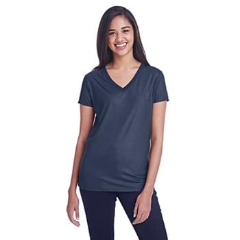 Ladies' Liquid Jersey V-Neck T-Shirt