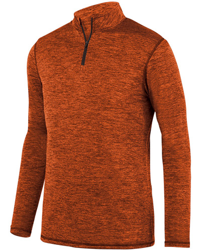 Youth Intensify BlackHeather Quarter-Zip Pullover