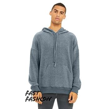 Unisex Sueded Fleece Pullover Sweatshirt