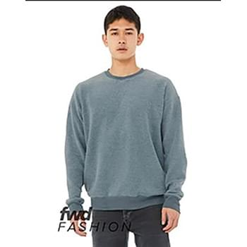 Unisex Sueded Drop Shoulder Sweatshirt