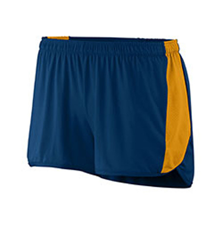 Ladies Wicking Poly/Span Short with Inserts