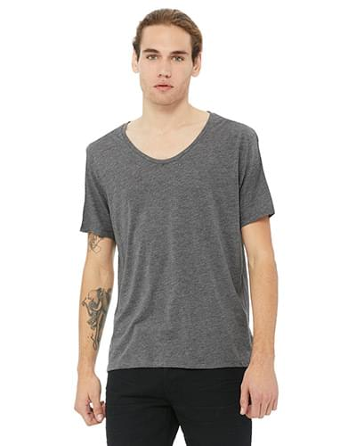 Men's Jersey Wide Neck T-Shirt