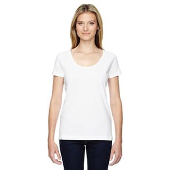 Ladies'' Scoop Neck T-Shirt