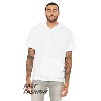 Fast Fashion Men's Jersey Short Sleeve Hoodie