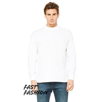 Fast Fashion Unisex Mock Neck Long Sleeve T-Shirt