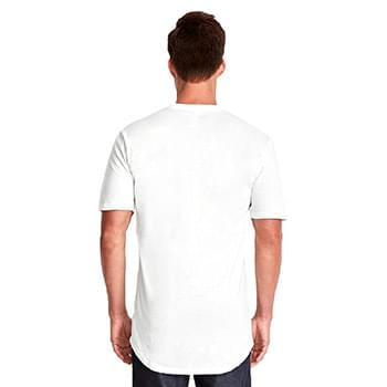 Men's Cotton Long Body Crew