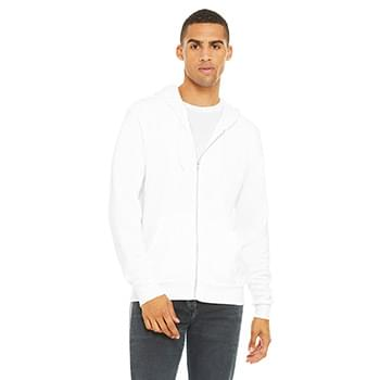 Unisex Poly-Cotton Sponge Fleece Full-Zip Hooded Sweatshirt