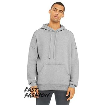 Unisex Raw Seam Hooded Sweatshirt