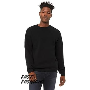 FWD Fashion Unisex Crew Neck Side Zipper Sweatshirt