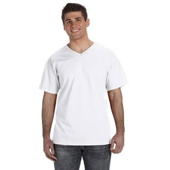 Adult 5 oz. HD Cotton V-Neck T-Shirt