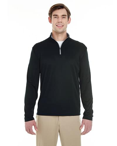 Men's Lightweight Long-Sleeve Quarter-Zip Performance Pullover