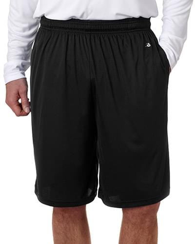 Adult Ten Inch Inseam B-Core Performance Short with Pockets