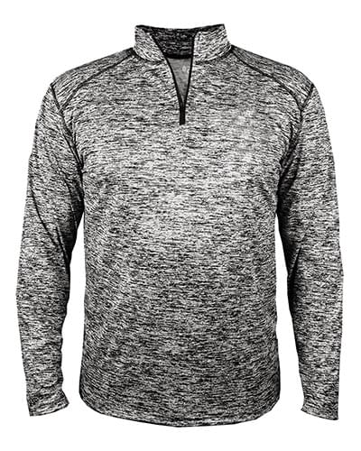 Adult Blend Quarter-Zip Long-Sleeve Pullover