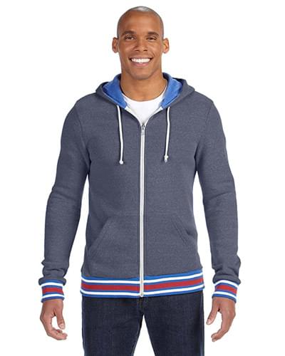 Men's Woody Eco Fleece Triblend Zip Hoodie
