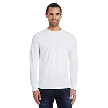 Men's 4.5 oz., 60/40 Ringspun Cotton/Polyester X-Temp Long-Sleeve T-Shirt
