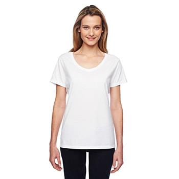Ladies' 4.5 oz. X-Temp? Performance V-Neck