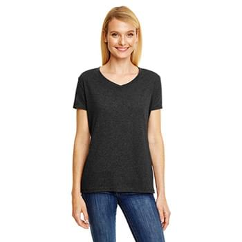 Ladies' X-Temp Triblend V-Neck T-Shirt