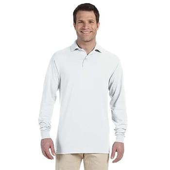 Adult 5.6 oz. SpotShield? Long-Sleeve Jersey Polo