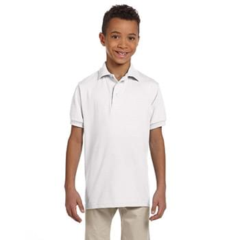 Youth 5.6 oz. SpotShield Jersey Polo